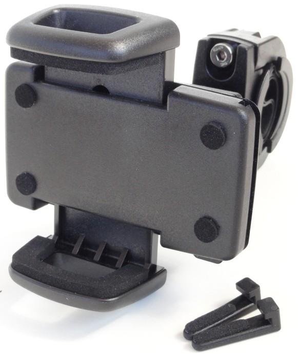 universal handy navi smartphone motorrad halter richter. Black Bedroom Furniture Sets. Home Design Ideas