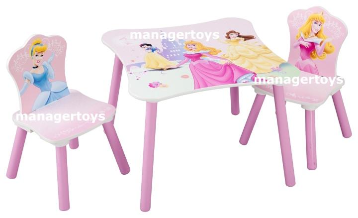 disney princess kinder sitzgruppe tisch 2 st hle stuhl. Black Bedroom Furniture Sets. Home Design Ideas